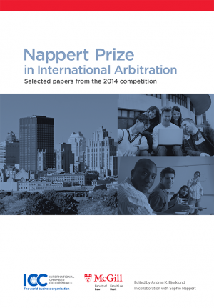 Nappert Prize in International Arbitration - Lingua inglese