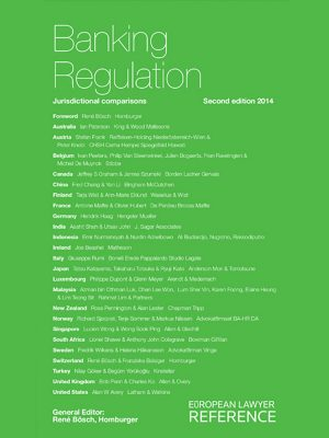 Banking Regulation 2nd Edition - Lingua inglese