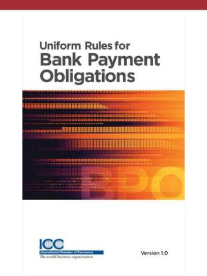 ICC Uniform Rules for Bank Payment Obligations URBPO - Lingua inglese
