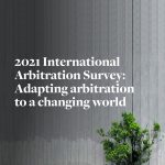International Arbitration Survey 2021, Corte ICC prima nel mondo